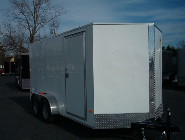 2020 Covered Wagon Enclosed 7x14 6'Interior Height
