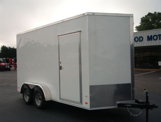 "2019 Covered Wagon Enclosed 7x14 7' 6"" Trailer in Madison, Georgia 30650"