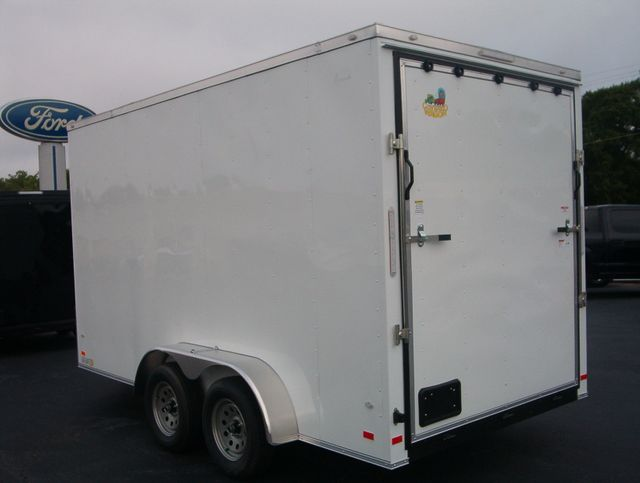 """2019 Covered Wagon Enclosed 7x14 7' 6"""" Trailer in Madison, Georgia 30650"""