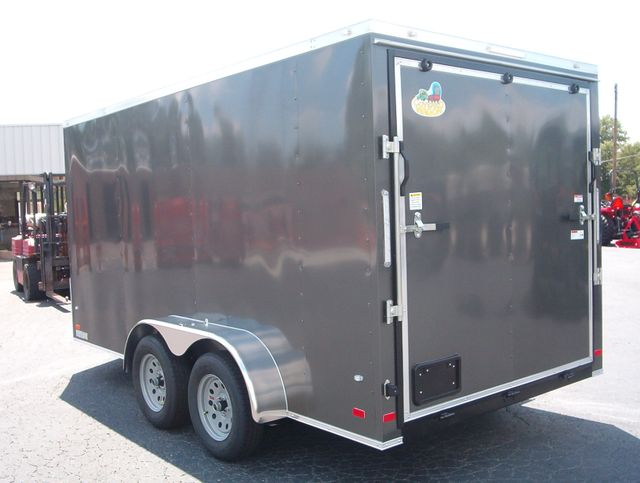 "2019 Covered Wagon Enclosed 7X14 Trailer 6' 6"" Interior Height in Madison, Georgia 30650"