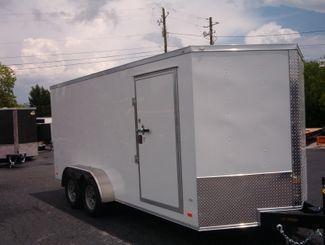 "2019 Covered Wagon Enclosed 7x16 6' 3"" Interior Height in Madison, Georgia 30650"