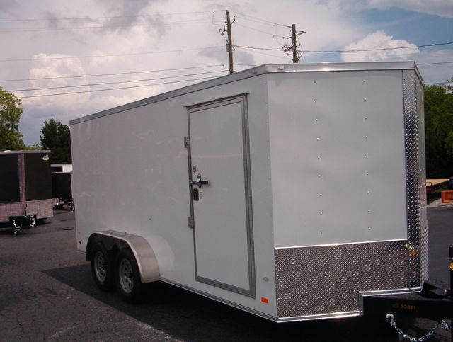 "2019 Covered Wagon Enclosed 7x16 6' 3"" Interior Height"