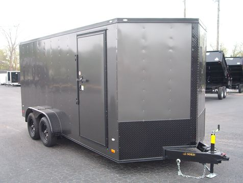 2019 Covered Wagon Enclosed 7x16 6'6
