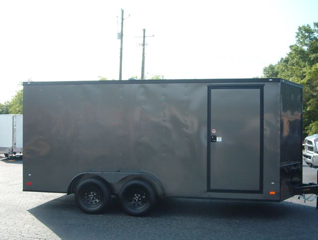 "2019 Covered Wagon Enclosed 7x16 6'6"" Blackout in Madison, Georgia 30650"