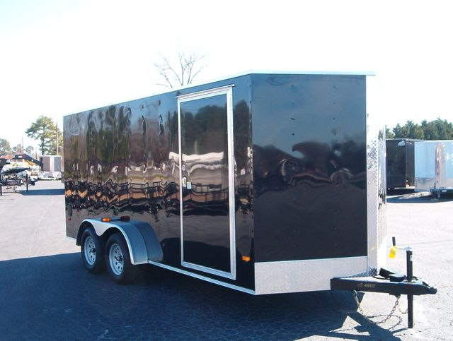 """2020 Covered Wagon Enclosed 7x16 6'6"""" Interior Height"""