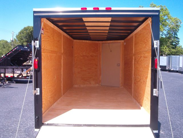 """2019 Covered Wagon Enclosed 7x16 6' 6"""" Interior Height in Madison, Georgia 30650"""