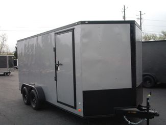 2019 Covered Wagon Enclosed 7x16 66 Interior Height   city Georgia  Youngblood Motor Company Inc  in Madison, Georgia