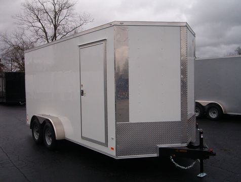 2019 Covered Wagon Enclosed 7x16 7 ft Interior Height  in Madison