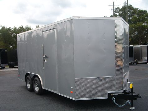 2019 Covered Wagon Enclosed 8 1/2x16 5 Ton 7 Ft Interior Height  in Madison