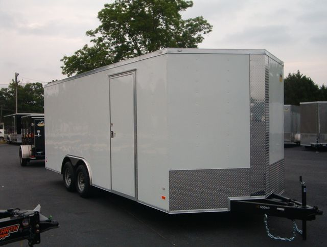 2019 Covered Wagon Enclosed 8 1/2x20 5 Ton 7 Ft