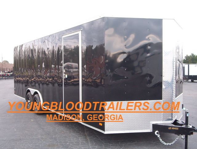 2019 Covered Wagon Enclosed 8 1/2x24 5 Ton 7 Ft Interior Height in Madison, Georgia 30650