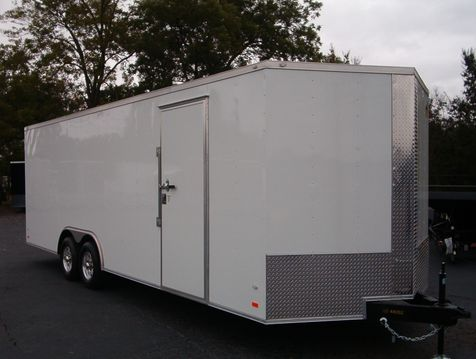 2019 Covered Wagon Enclosed 8 1/2x24 5 Ton 7 Ft Interior Height  in Madison