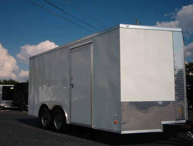 """2019 Covered Wagon Enclosed 8 1/2x16 6'6"""" Interior Height"""