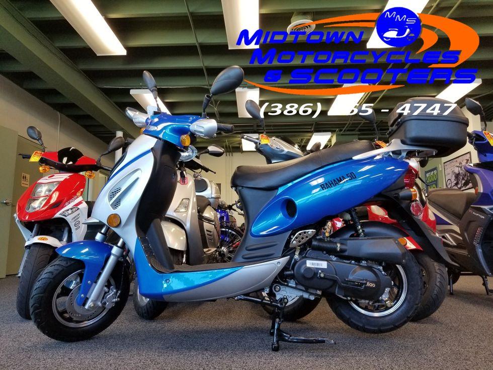 2019 Daix Bahama Scooter 49cc | Daytona Beach FL | Midtown