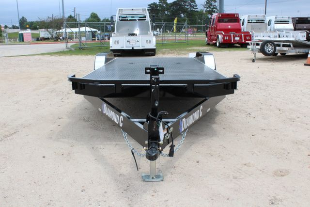 2019 Diamond C 12CHS 20' DELUXE STEEL FLOOR CAR HAULER CONROE, TX 4
