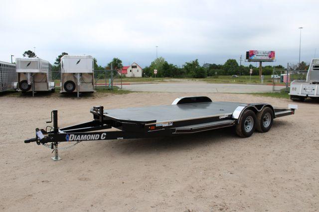 2019 Diamond C 12CHS 20' DELUXE STEEL FLOOR CAR HAULER CONROE, TX 8