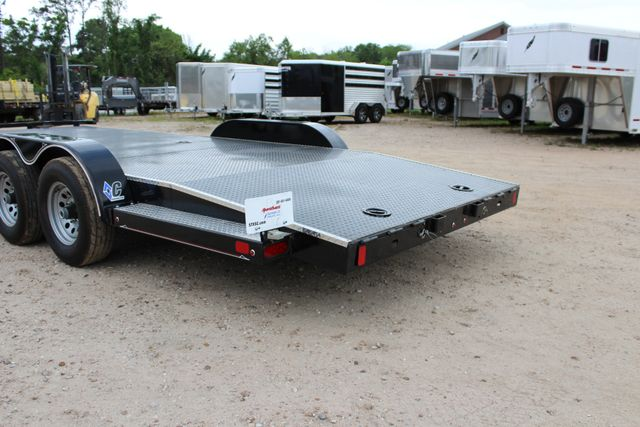 2019 Diamond C 12CHS 22' CHS Deluxe Steel Floor Open Car Trailer CONROE, TX 12