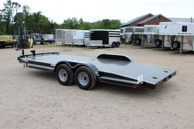 2019 Diamond C 12CHS 22' CHS Deluxe Steel Floor Open Car Trailer CONROE, TX 10