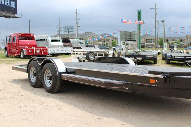 2019 Diamond C 12CHS 22' CHS Deluxe Steel Floor Open Car Trailer CONROE, TX 1