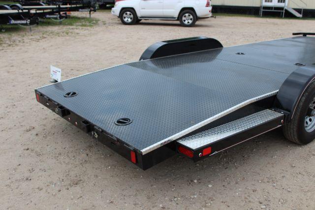 2019 Diamond C 12CHS 22' CHS Deluxe Steel Floor Open Car Trailer CONROE, TX 15
