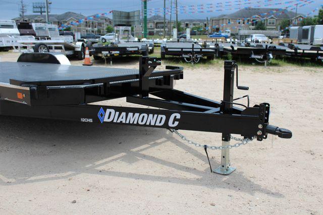 2019 Diamond C 12CHS 22' CHS Deluxe Steel Floor Open Car Trailer CONROE, TX 3
