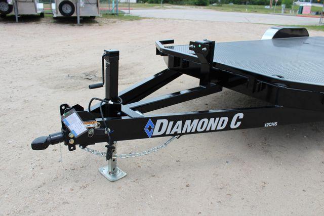 2019 Diamond C 12CHS 22' CHS Deluxe Steel Floor Open Car Trailer CONROE, TX 5