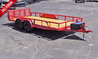 "2019 Diamond C 16' x 83"" General Tandem Utility Trailer $3,295 in Keller, TX 76111"