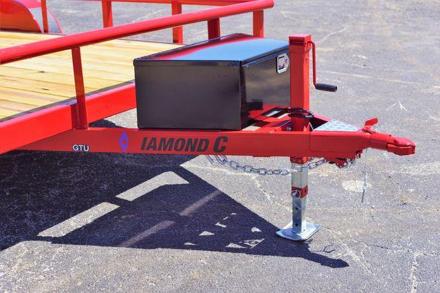 "2019 Diamond C 16' x 83"" General Tandem Utility Trailer $3,295 in Keller, TX 76111"