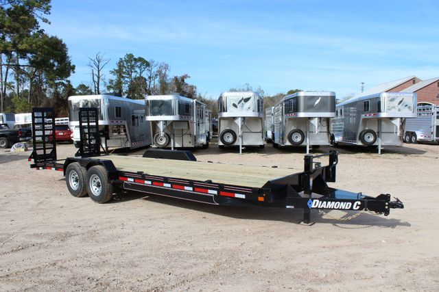 2019 Diamond C 18EEQ 24 X 82 EXTREME FLATBET EQUIPMENT TRAILER CONROE, TX 29