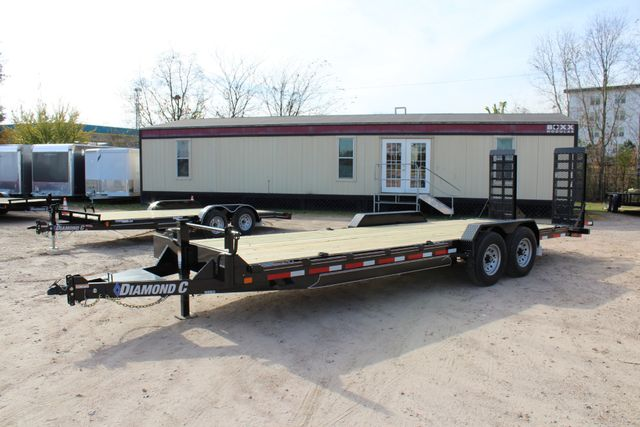 2019 Diamond C 18EEQ 24 X 82 EXTREME FLATBET EQUIPMENT TRAILER CONROE, TX 10