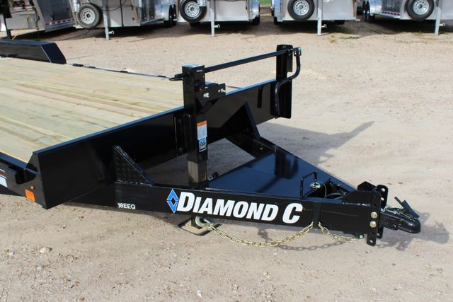 2019 Diamond C 18EEQ 24 X 82 EXTREME FLATBET EQUIPMENT TRAILER CONROE, TX 2