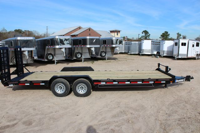 2019 Diamond C 18EEQ 24 X 82 EXTREME FLATBET EQUIPMENT TRAILER CONROE, TX 26