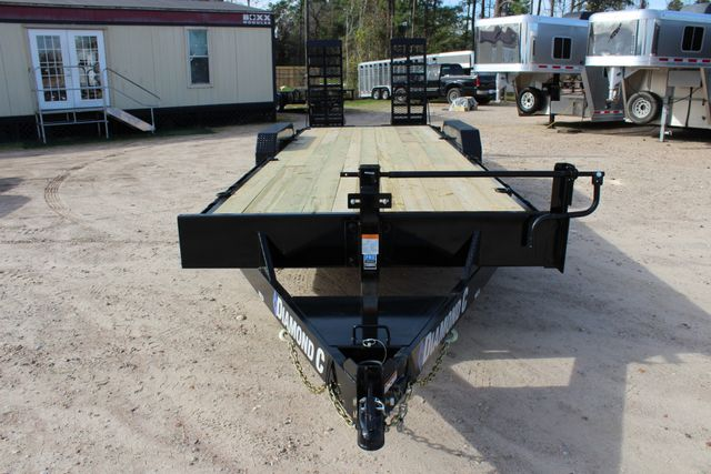 2019 Diamond C 18EEQ 24 X 82 EXTREME FLATBET EQUIPMENT TRAILER CONROE, TX 3