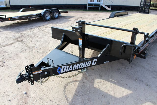 2019 Diamond C 18EEQ 24 X 82 EXTREME FLATBET EQUIPMENT TRAILER CONROE, TX 4
