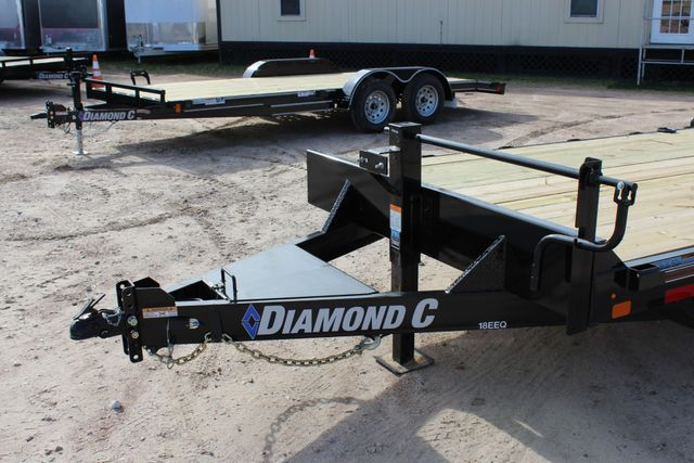 2019 Diamond C 18EEQ 24 X 82 EXTREME FLATBET EQUIPMENT TRAILER CONROE, TX 7