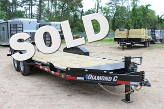 2019 Diamond C LPX 18' Low Profile Extreme Duty Equipment Trailer CONROE, TX