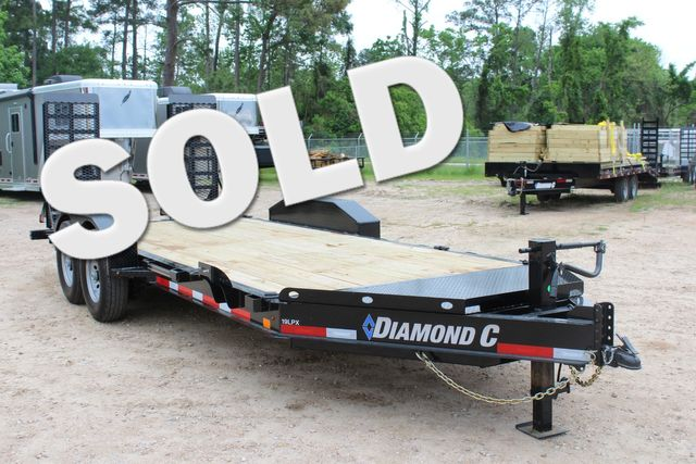 2019 Diamond C LPX 18' Low Profile Extreme Duty Equipment Trailer CONROE, TX 0