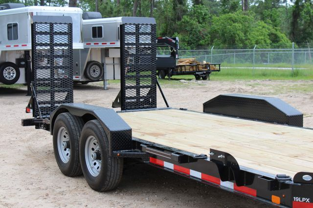 2019 Diamond C LPX 18' Low Profile Extreme Duty Equipment Trailer CONROE, TX 1