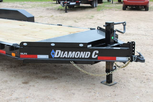2019 Diamond C LPX 18' Low Profile Extreme Duty Equipment Trailer CONROE, TX 2