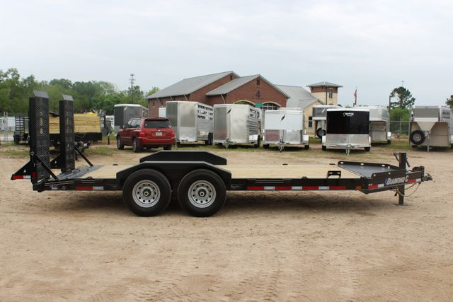 2019 Diamond C LPX 18' Low Profile Extreme Duty Equipment Trailer CONROE, TX 20