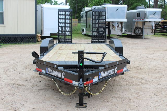 2019 Diamond C LPX 18' Low Profile Extreme Duty Equipment Trailer CONROE, TX 4