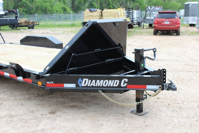 2019 Diamond C LPX 18' Low Profile Extreme Duty Equipment Trailer CONROE, TX 3