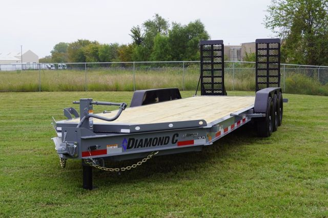 2019 Diamond C LPX 25' TRIPLE AXLE SPRING RAMP in Keller, TX 76111