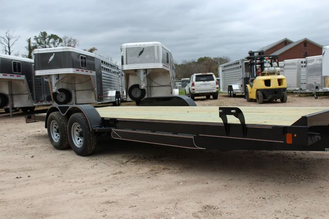 2019 Diamond C GTF 22' GENERAL DUTY  FLATBED WOOD DECK CAR TRAILER CONROE, TX 1