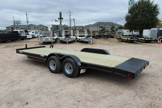 2019 Diamond C GTF 22' GENERAL DUTY  FLATBED WOOD DECK CAR TRAILER CONROE, TX 11