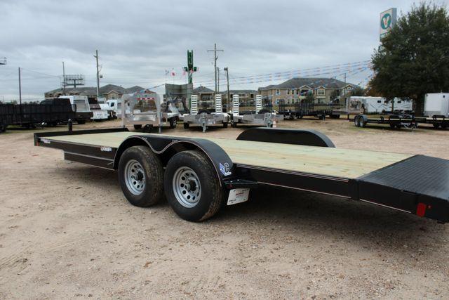 2019 Diamond C GTF 22' GENERAL DUTY  FLATBED WOOD DECK CAR TRAILER CONROE, TX 12