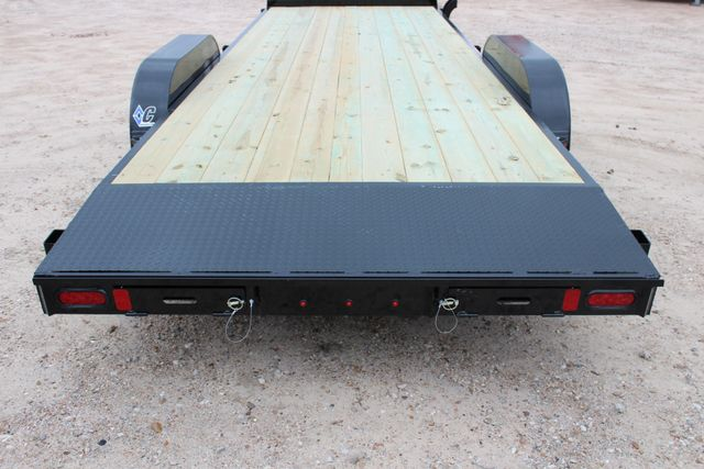 2019 Diamond C GTF 22' GENERAL DUTY  FLATBED WOOD DECK CAR TRAILER CONROE, TX 14