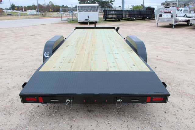 2019 Diamond C GTF 22' GENERAL DUTY  FLATBED WOOD DECK CAR TRAILER CONROE, TX 15