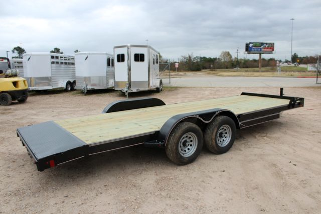 2019 Diamond C GTF 22' GENERAL DUTY  FLATBED WOOD DECK CAR TRAILER CONROE, TX 18