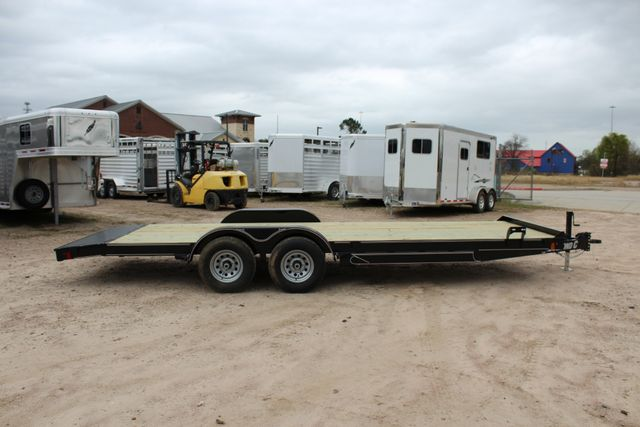 2019 Diamond C GTF 22' GENERAL DUTY  FLATBED WOOD DECK CAR TRAILER CONROE, TX 19